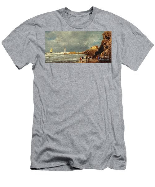 Perch Rock - New Brighton 1829 Men's T-Shirt (Athletic Fit)