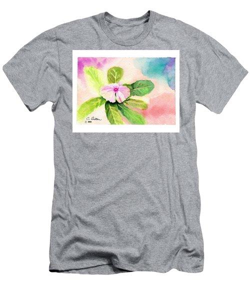 Periwinkle Men's T-Shirt (Slim Fit) by C Sitton