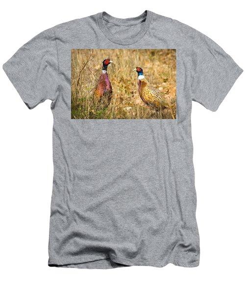 Pheasant Friends Men's T-Shirt (Athletic Fit)
