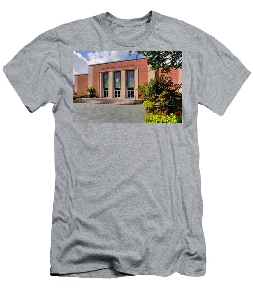 Men's T-Shirt (Slim Fit) featuring the photograph Phi Beta Kappa Hall by Jerry Gammon