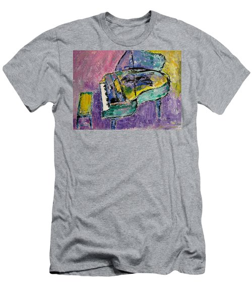 Piano Green Men's T-Shirt (Athletic Fit)