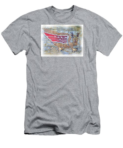 Piasa Bird In Oils Men's T-Shirt (Slim Fit) by Kelly Awad