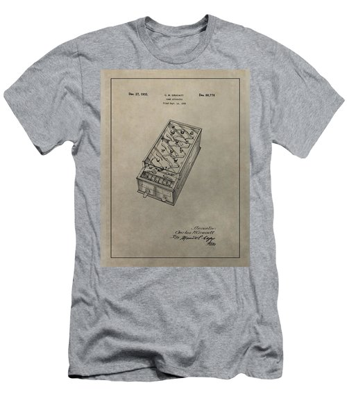 Pinball Machine Patent Men's T-Shirt (Athletic Fit)