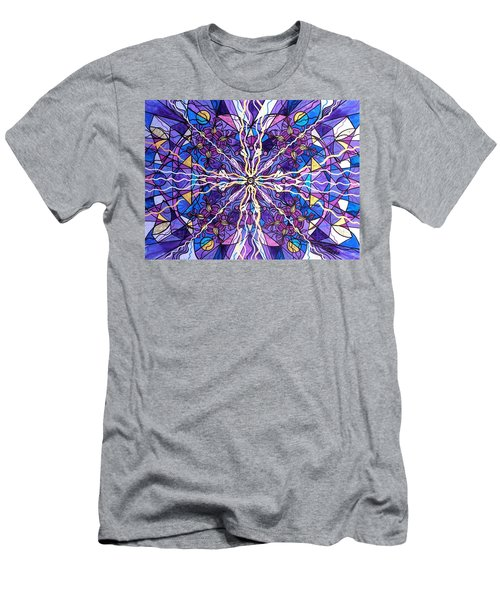 Pineal Opening Men's T-Shirt (Athletic Fit)