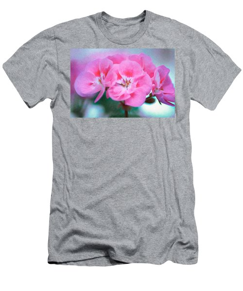 Men's T-Shirt (Athletic Fit) featuring the photograph Pink Beauty by Garvin Hunter