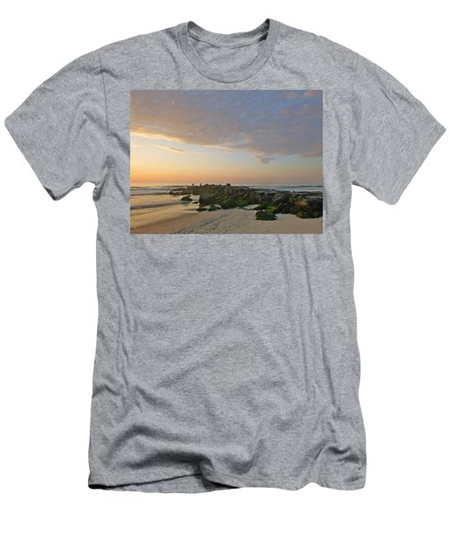 Pink Morning 2 Men's T-Shirt (Athletic Fit)