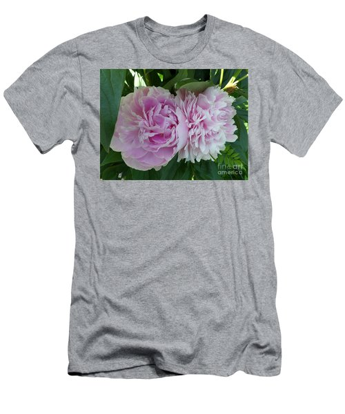 Pink Peonies 2 Men's T-Shirt (Athletic Fit)