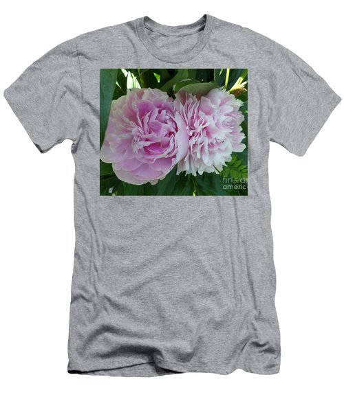 Pink Peonies 2 Men's T-Shirt (Athletic Fit)