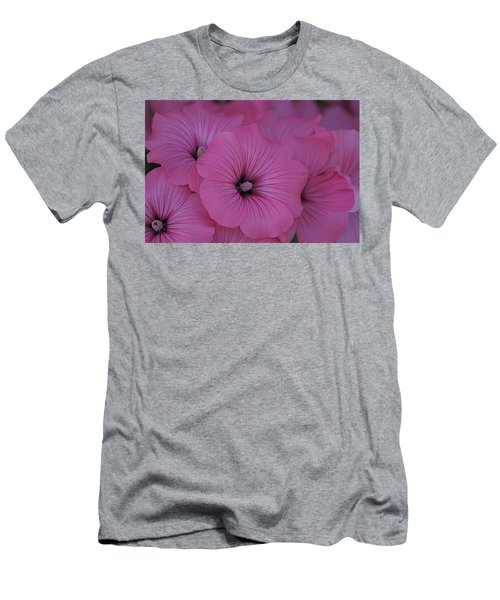 Pink Petunia Men's T-Shirt (Athletic Fit)