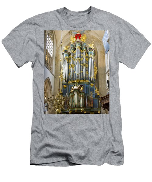 Pipe Organ In Breda Grote Kerk Men's T-Shirt (Athletic Fit)
