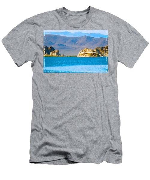Planet Pyramid Men's T-Shirt (Athletic Fit)