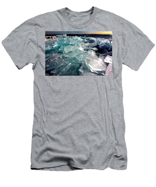 Plate Ice  Men's T-Shirt (Athletic Fit)