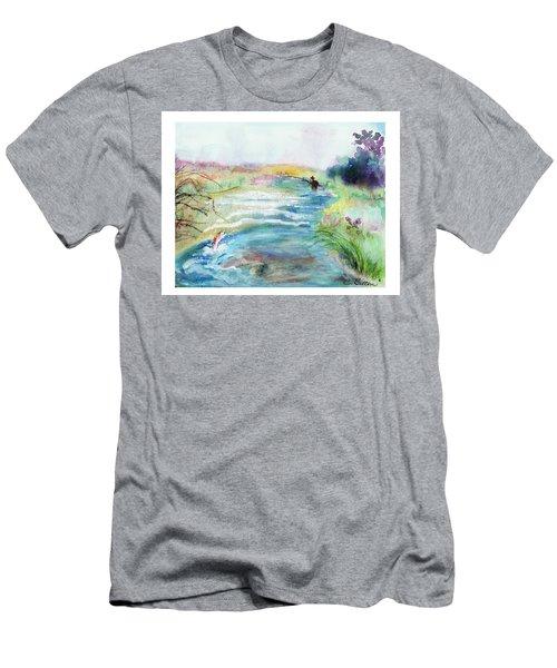 Playin' Hooky Men's T-Shirt (Slim Fit) by C Sitton