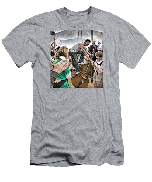 The Lost Bayou Ramblers Pleasing The Crowd Men's T-Shirt (Slim Fit)