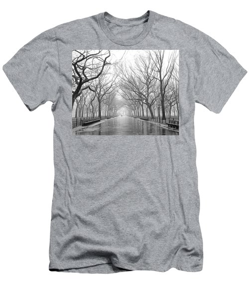 New York City - Poets Walk Central Park Men's T-Shirt (Athletic Fit)