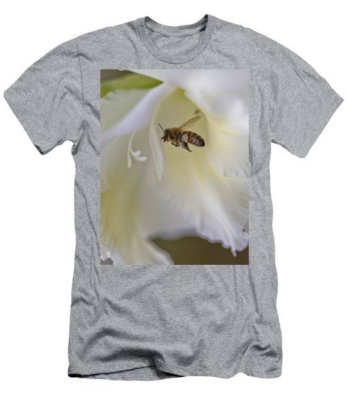 Pollen Carrier Bee Men's T-Shirt (Athletic Fit)
