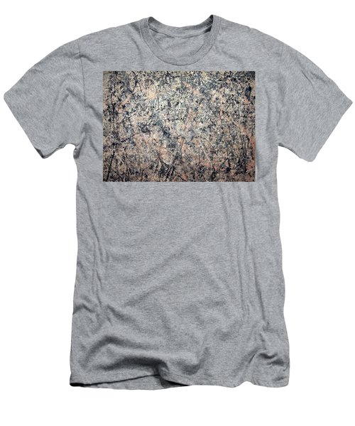 Pollock's Number 1 -- 1950 -- Lavender Mist Men's T-Shirt (Slim Fit)