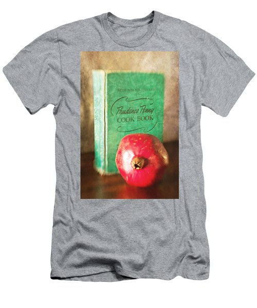 Pomegranate And Vintage Cook Book Still Life Men's T-Shirt (Athletic Fit)