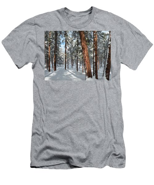 Ponderosa Winter Men's T-Shirt (Athletic Fit)