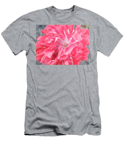 Popping Pink Men's T-Shirt (Athletic Fit)