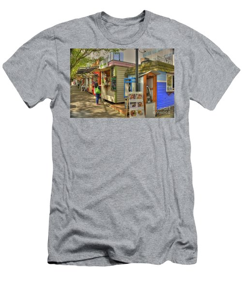 Portland Food Carts Men's T-Shirt (Athletic Fit)
