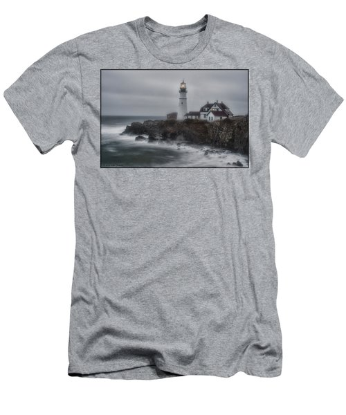 Portland Head Nor'easter Men's T-Shirt (Athletic Fit)