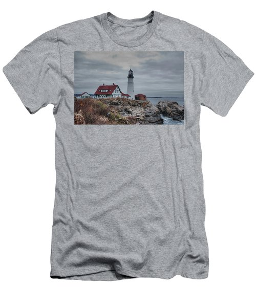 Portland Headlight 14456 Men's T-Shirt (Athletic Fit)