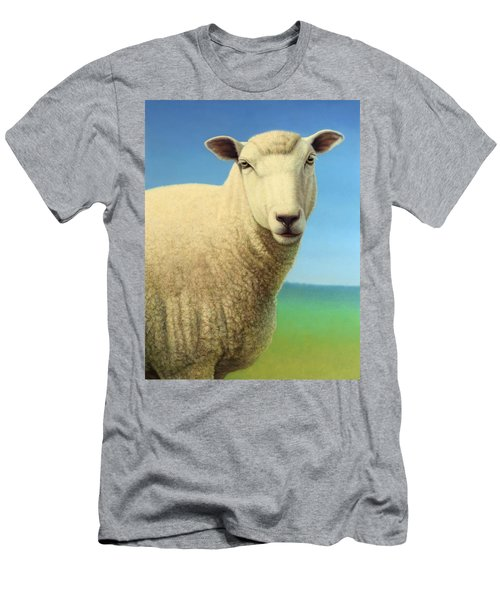 Portrait Of A Sheep Men's T-Shirt (Athletic Fit)