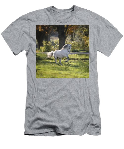 Practicing Levade Men's T-Shirt (Athletic Fit)