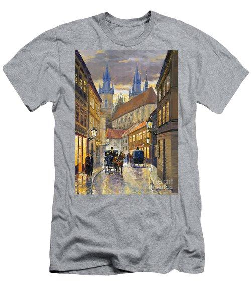 Prague Old Street Stupartska Men's T-Shirt (Athletic Fit)