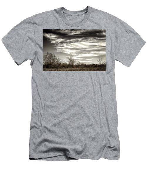 Prairie Winter Sky Men's T-Shirt (Athletic Fit)