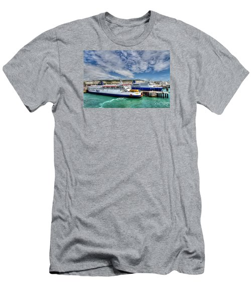 Preparing To Cross The Channel Men's T-Shirt (Slim Fit) by Tim Stanley