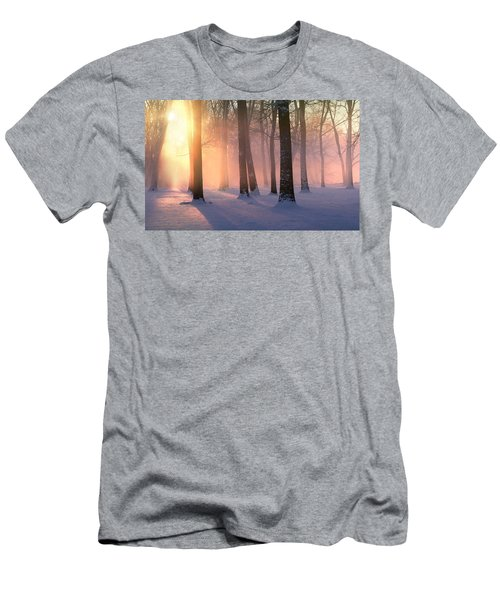 Presence Of Light Men's T-Shirt (Athletic Fit)