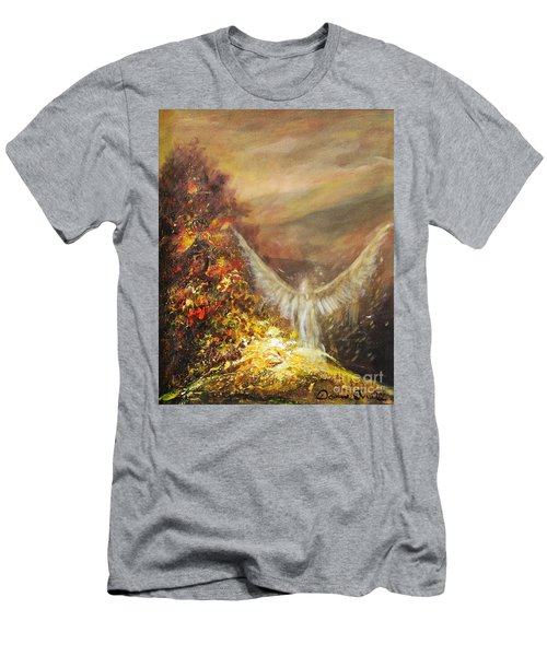 Protecting Mother Earth Men's T-Shirt (Athletic Fit)