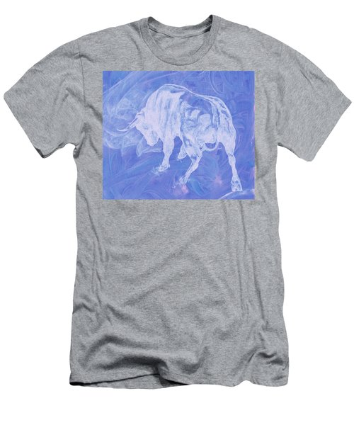 Purple Bull Negative Men's T-Shirt (Athletic Fit)