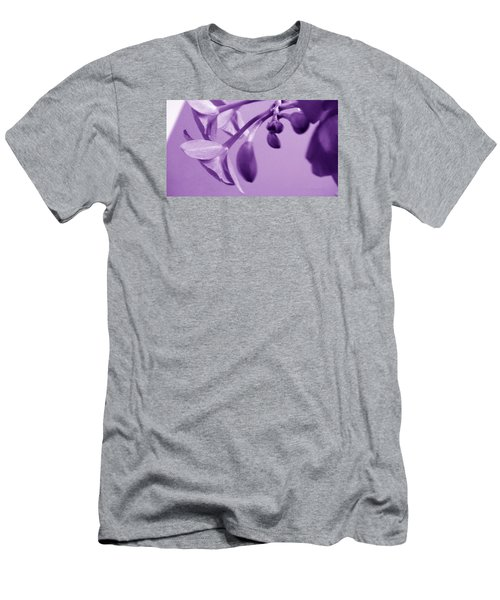 Purple Charm Men's T-Shirt (Athletic Fit)
