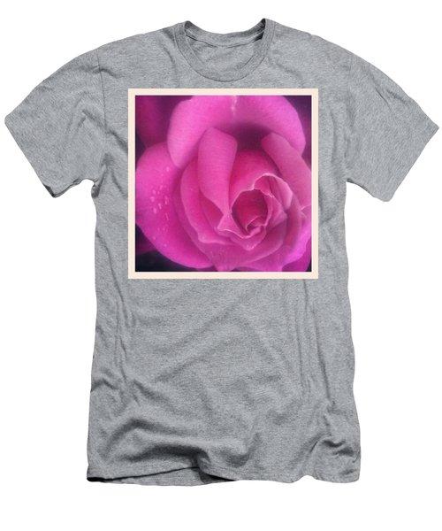 Purple Rose Confection Men's T-Shirt (Athletic Fit)