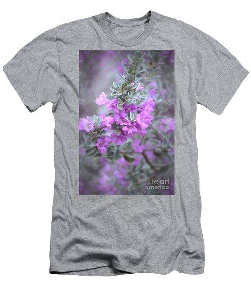 Purple Sage Men's T-Shirt (Athletic Fit)
