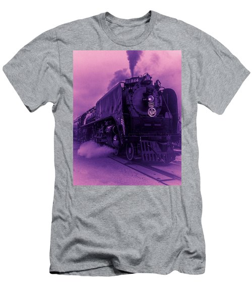Purple Smoke Men's T-Shirt (Athletic Fit)