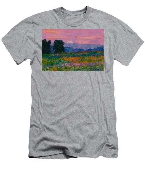 Purple Sunset On The Blue Ridge Men's T-Shirt (Athletic Fit)