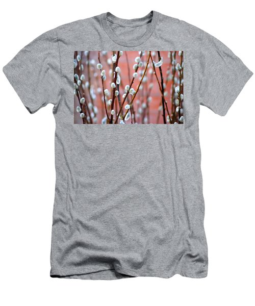 Pussy Willows Men's T-Shirt (Slim Fit) by Ira Shander