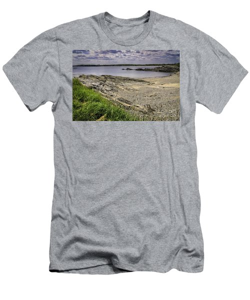 Men's T-Shirt (Slim Fit) featuring the photograph Quiet Cove by Mark Myhaver