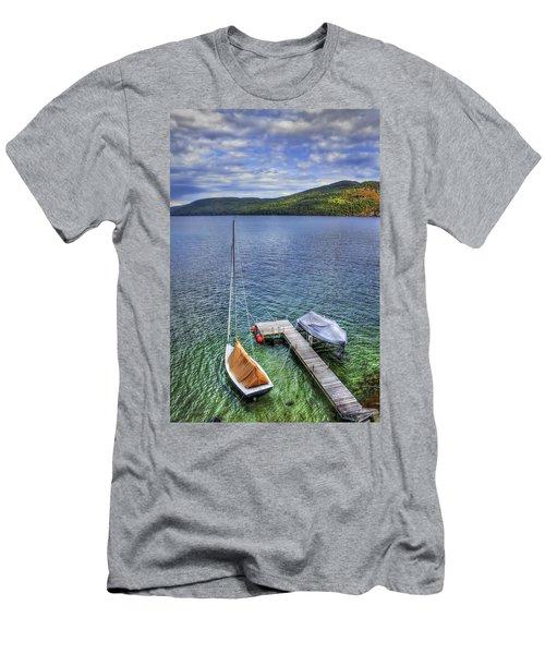 Quiet Jetty Men's T-Shirt (Athletic Fit)