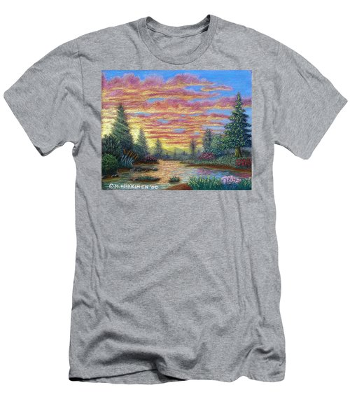 Quiet River Men's T-Shirt (Athletic Fit)