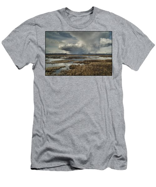 Rain Storm Men's T-Shirt (Athletic Fit)