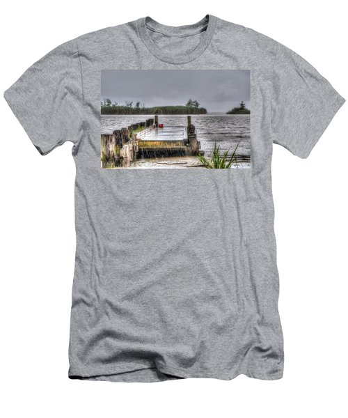 Men's T-Shirt (Slim Fit) featuring the photograph Rained Out by Charlotte Schafer