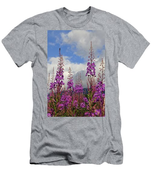 Men's T-Shirt (Slim Fit) featuring the photograph Reach For The Sky by Cathy Mahnke