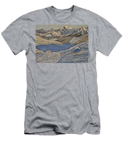 Reaching The Dream  Men's T-Shirt (Athletic Fit)