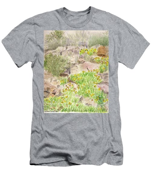 Red Butte Gardens Men's T-Shirt (Athletic Fit)