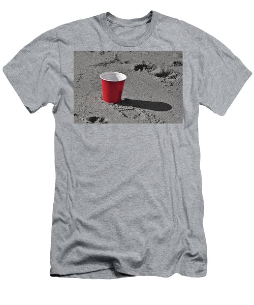 Red Solo Cup Men's T-Shirt (Slim Fit) by Trish Tritz